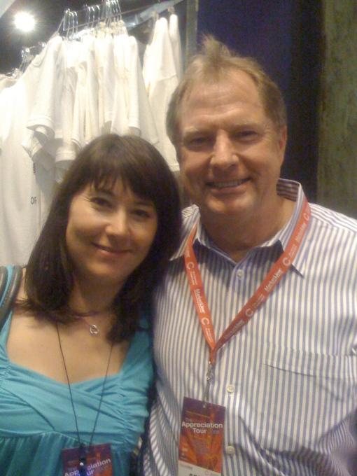 Kim McLean, with unidentified Marketlinx employee  ; )