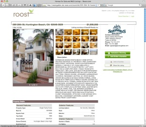 roost's detailed property page