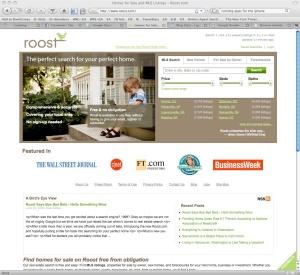 roost homepage