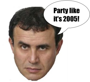 Roubini predicts a good time.