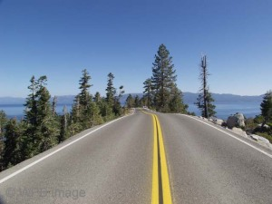 Lake Tahoe road wpb